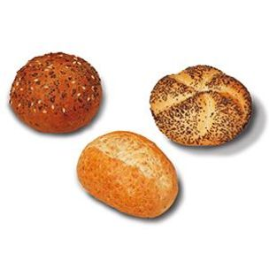 Dauphine Fully Baked Classic Mini Rolls (Mix)-75x32g