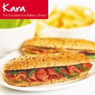 Kara Fully Baked Wholemeal Hoagies-54x100g