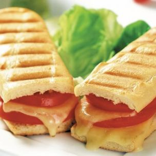 Letsdough Fully Baked Side Sliced Grill Marked Panini (27cm)-45x125g