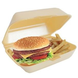 N9 (HP2) Burger & Chips Boxes (Gold) (185x43x150mm) 1x250
