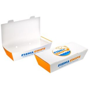 """Fish & Chips Small Boxes (10""""x5""""x2.5"""")-1x150"""