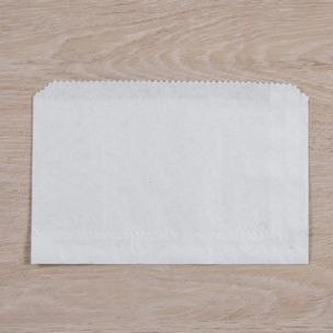 """White Paper Chips Bags (6""""x4"""") 1x1000"""