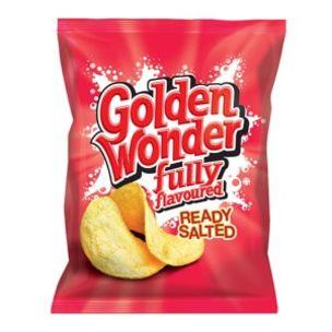 Golden Wonder Ready Salted Crisps-48x32.5g