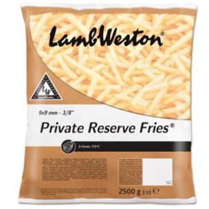 Lamb Weston Private Reserve® 3/8 Fries-4x2.5kg