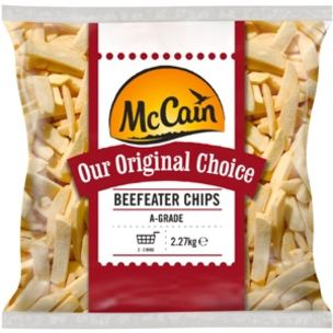 McCain Original Choice Steak-Cut Chips(BeefEater)-4x2.27kg