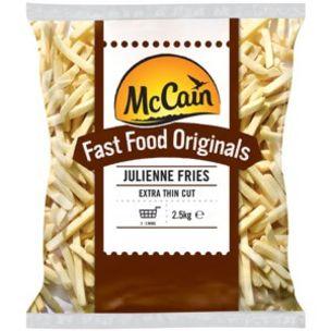 McCain Fast Food Originals Julienne Fries-4x2.5kg