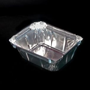 """No:1 Foil Containers (4.5""""x4""""x1.5"""")-1x1000"""