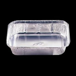 """No:9 Foil Containers (9""""x9""""x1.5"""")-1x200"""
