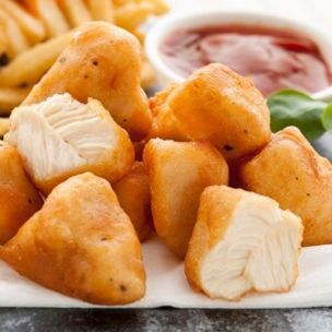 Paragon Halal Fully Cooked Whole Muscle Battered Chicken Chunks- 1x2kg