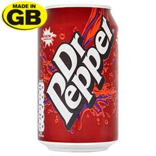 Dr Pepper Cans-(GB)-24x330ml
