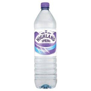Highland Spring Still Water (Plastic Bottles)-12x1.5L