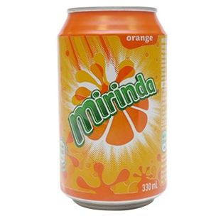 Mirinda Orange Cans-24x330ml