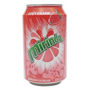 Mirinda Strawberry Cans-24x330ml