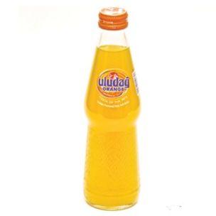 Uludag Orange Fizzy Soft Drink (Glass Bottle)-24x250ml