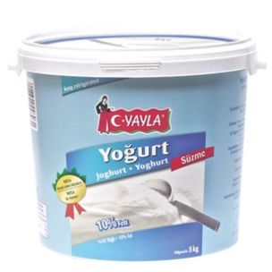 Yayla Strained Yoghurt (Suzme) (10% Fat)-1x5kg