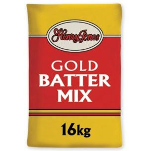 Henry Jones Gold Batter Mix-1x16kg