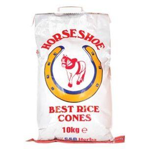 Horseshoe Best Rice Cones-1x10kg