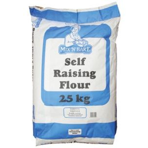 Mix`N` Bake Self Raising Flour-1x25kg