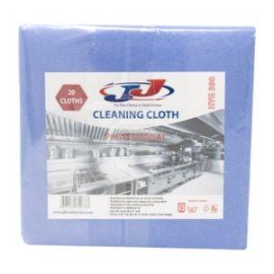 JJ 20 Multi Purpose Cloth 34cmx36cm Blue-1x1