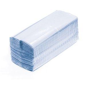 Blue Centrefold Hand Towels-15x176