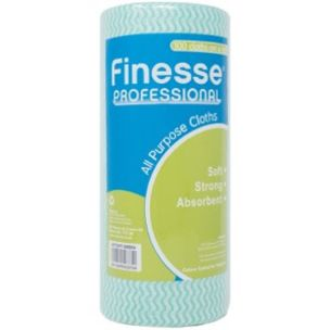 Finesse 100 All Purpose Cloth On A Roll Green-1x1