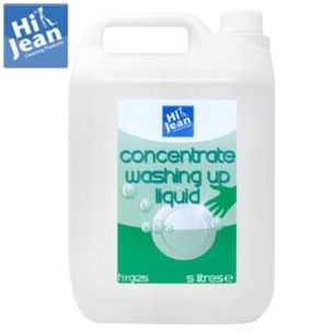 Hi-Jean Concentrated Washing Up Liquid-2x5L