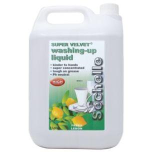 Sechelle Super Velvet Washing Up liquid-2x5L