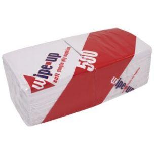 Wipe-Up Soft Serviettes (1Ply & 30cm) 5x500