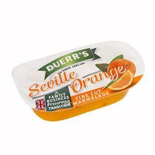 Duerrs Fine Cut Orange Marmalade Portions-96x20g