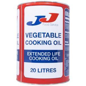 JJ Vegetable Cooking Oil (Drum) 1x20L