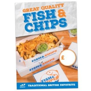 Great Quality Fish & Chips Poster 1x1