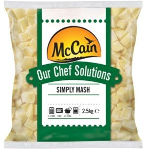 McCain Chef Solutions Simply Mash Potatoes-1x2.5kg