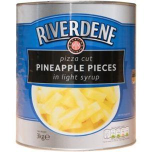 Pineapple Pizza Cut Pieces-(Tin)-1x3kg