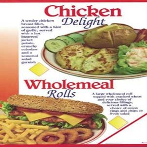 Poster-Chicken Delight & Wholemeal Rolls