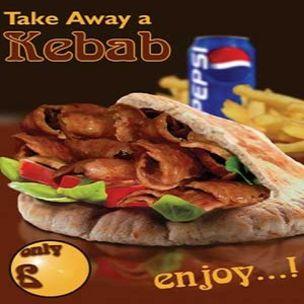Poster-Halal Doner Kebab