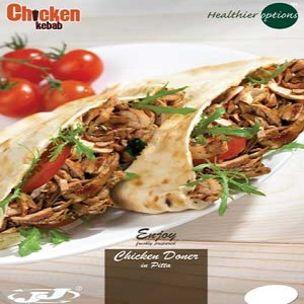 Poster-Healthier Options Chicken Doner in Pitta