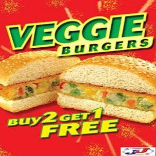 Poster-Veggie Burger