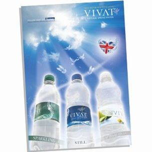 Poster-Vivat Flavoured Water