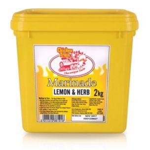 Chicken Train Piri-Piri Marinade Lemon & Herb Baste (Yellow)-1x2kg