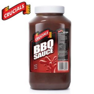 Crucials Smoky BBQ Sauce-2x2.27L