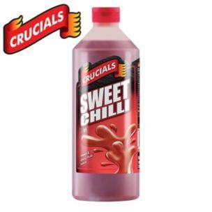 Crucials Sweet Chilli Sauce (Bottle)-6x1L