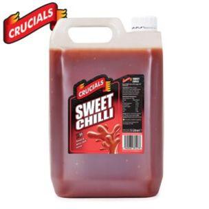 Crucials Sweet Chilli Sauce-1x5L
