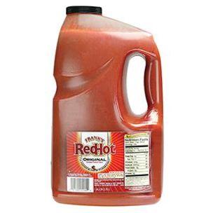 Frank's Red Hot Original Cayenne Pepper Sauce-1x3.7L