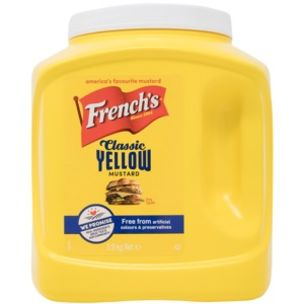 French's Classic Yellow Mustard-1x2.97kg