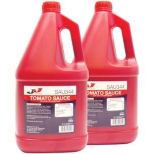 JJ Halal Tomato Sauce-2x4L