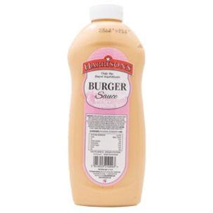 Harrisons Burger Sauce (Bottle)-4x970ml