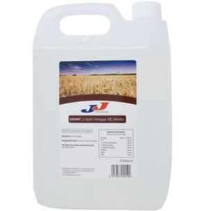JJ White Vinegar-4x5L