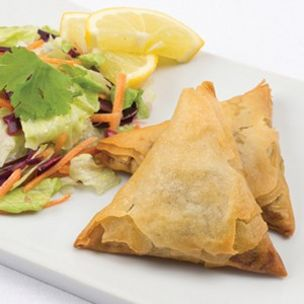 Large Cooked Vegetable Samosa-15x120g