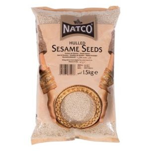 Natco Hulled Sesame Seeds-1x1.5kg