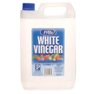 Pride Distilled White Vinegar-4x5L